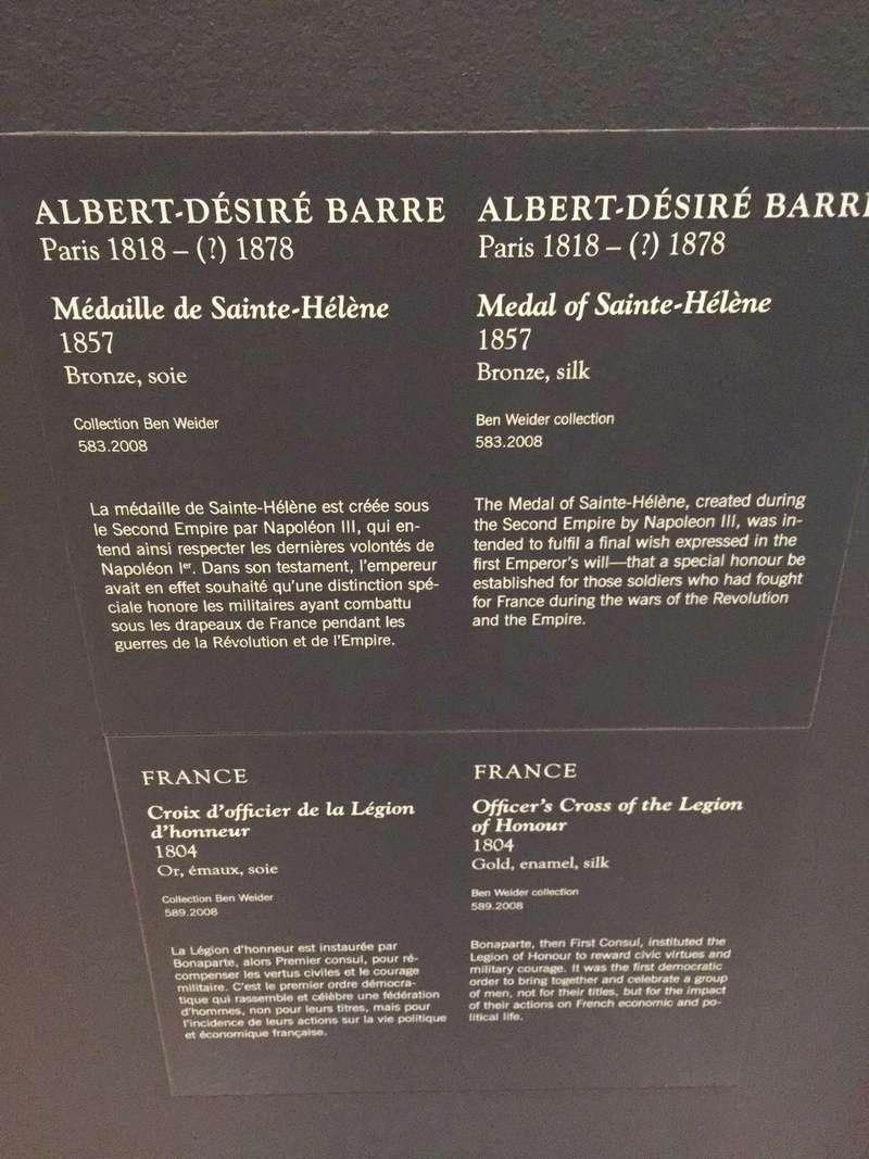 MBA Montréal : les collections napoléoniennes et Ben Weider Img_1031