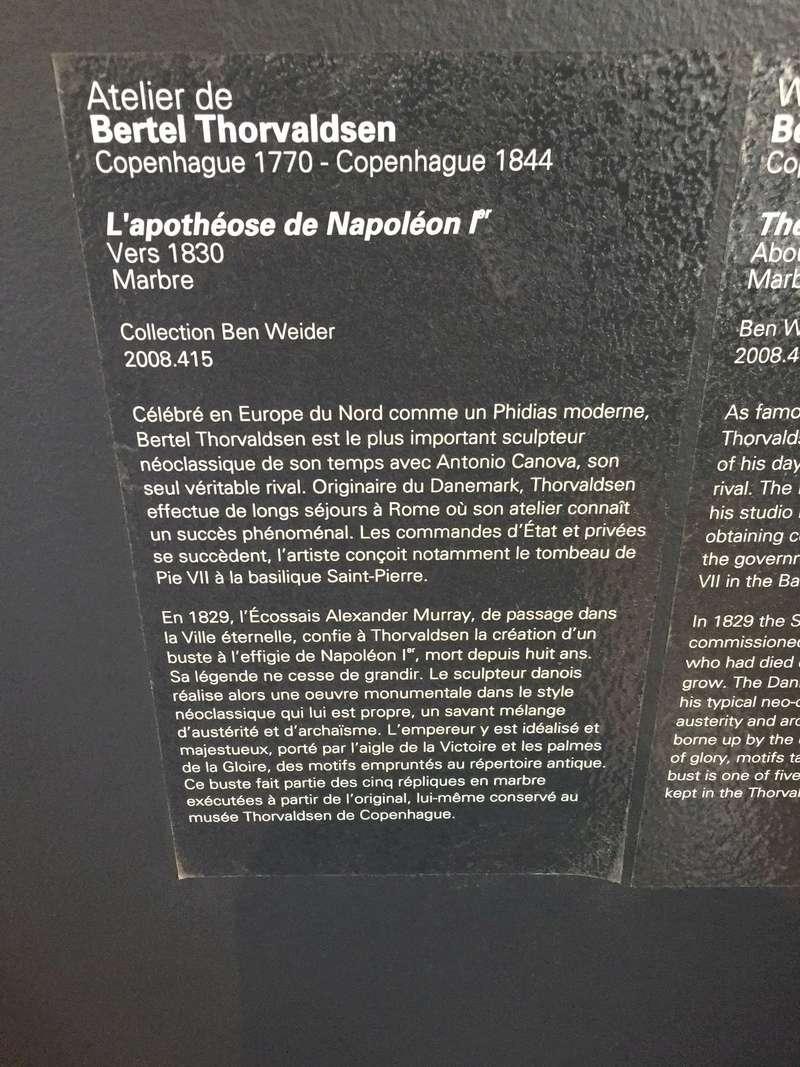MBA Montréal : les collections napoléoniennes et Ben Weider Img_1037