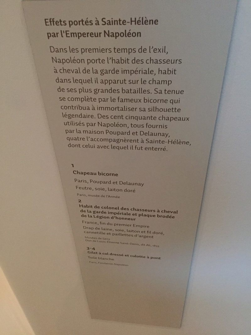 """Napoléon à Sainte Hélène"", Invalides, 06/04-24/07/16 Img_2530"