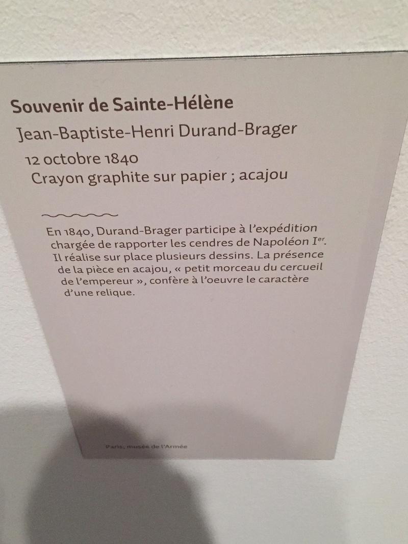"""Napoléon à Sainte Hélène"", Invalides, 06/04-24/07/16 Img_2714"