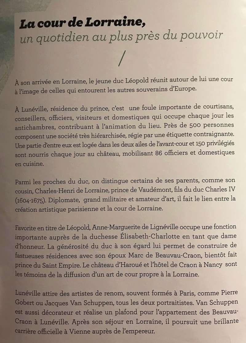 Lunéville : 10 ans d'acquisitions révélées Img_6228