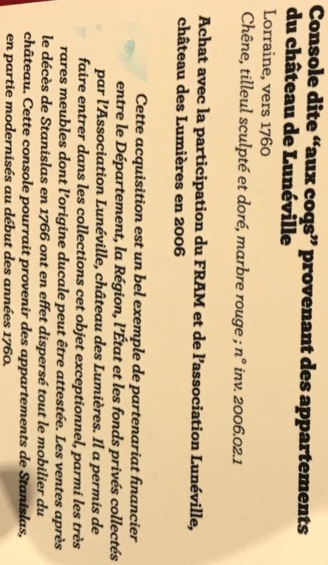 Lunéville : 10 ans d'acquisitions révélées Img_6248