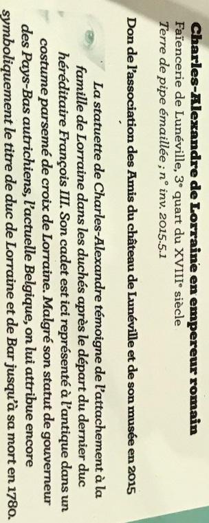 Lunéville : 10 ans d'acquisitions révélées Img_6338