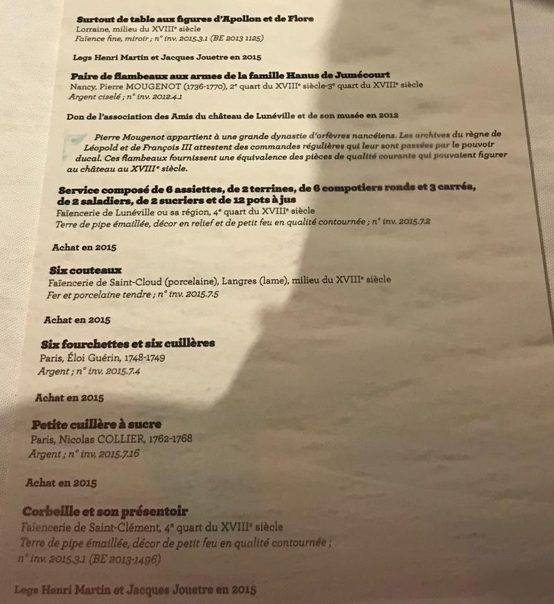 Lunéville : 10 ans d'acquisitions révélées Img_6346