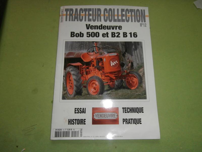 TRACTEUR - TRACTEUR VENDEUVRE BOB 500 Pc100010