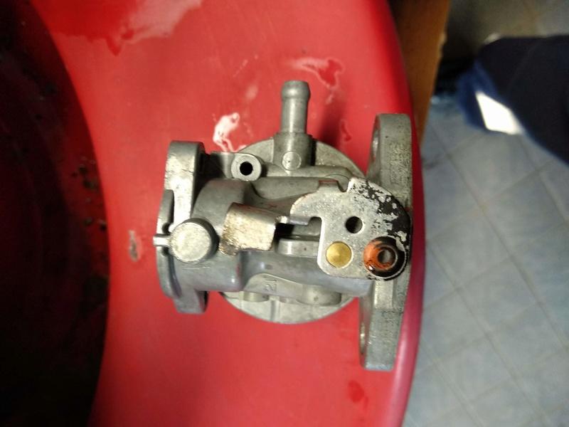 Rasaerba Harry motore B&S Diamond 60 difficoltà avviamento 1110