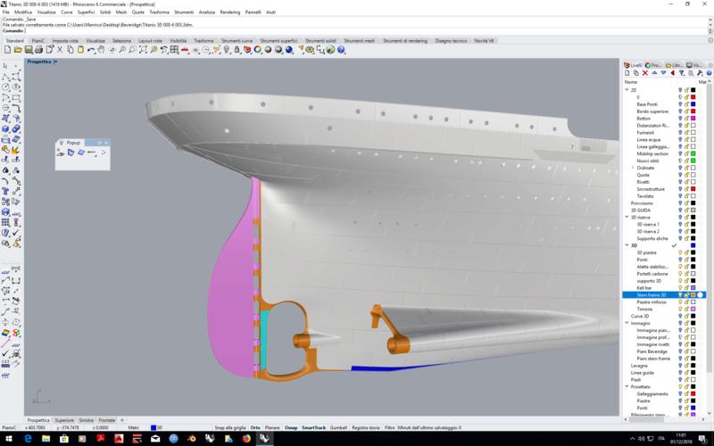 titanic - Titanic scala 1/144 di DELUX - Pagina 2 2018-111