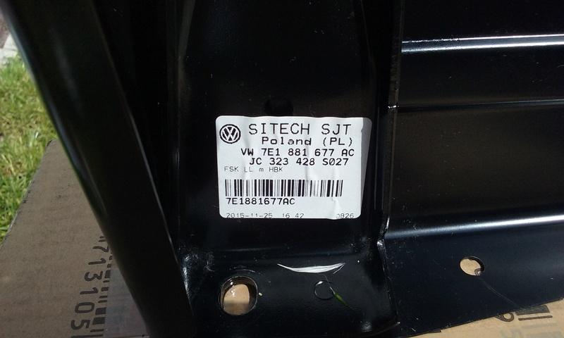 Console / embase siège conducteur T5/T6 20180513
