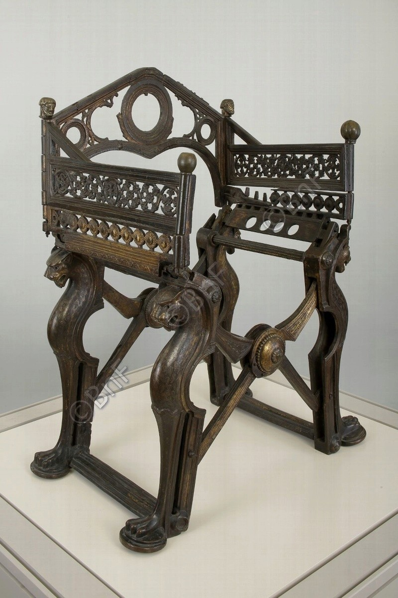 le trône de Dagobert  Inv_5511
