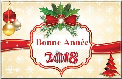 Bonne année 2018 Stock-10