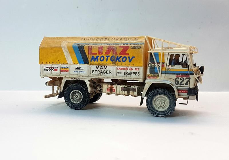 Ralley Paris-Dakar 1985 20171225