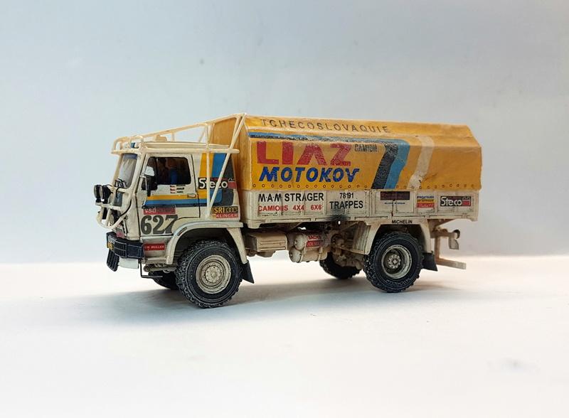 Ralley Paris-Dakar 1985 20171227