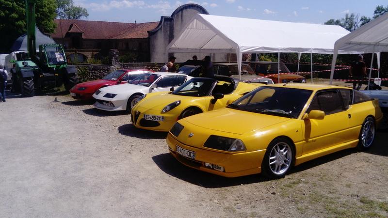 Expo voitures anciennes Château de l'Arthaudière 2018 Dsc_1626