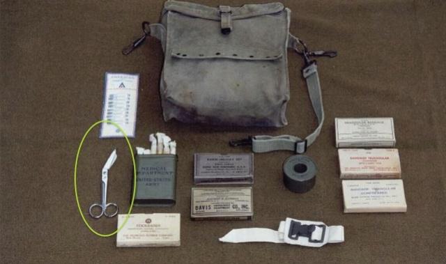 paire ciseaux infirmier US Asb-1710
