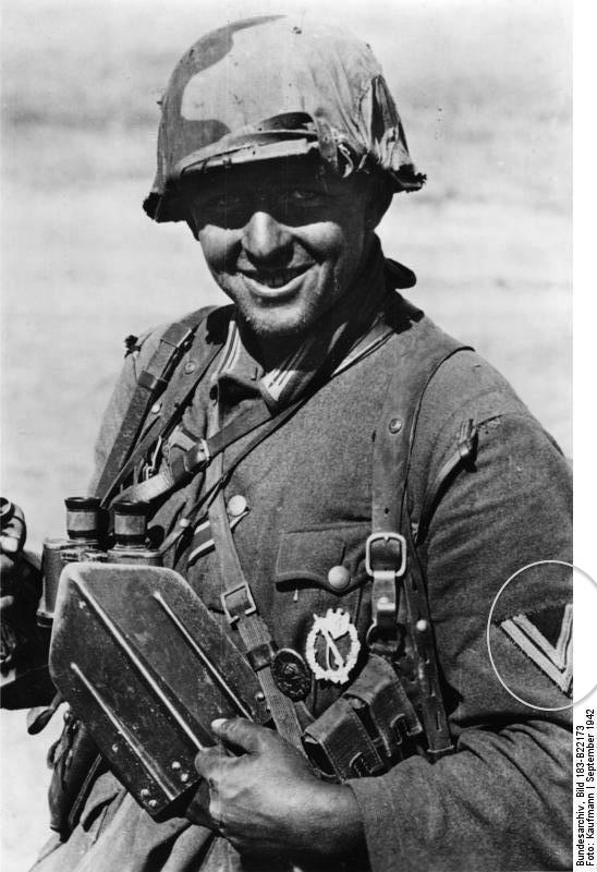 Grade uniforme wehrmacht Bundes10
