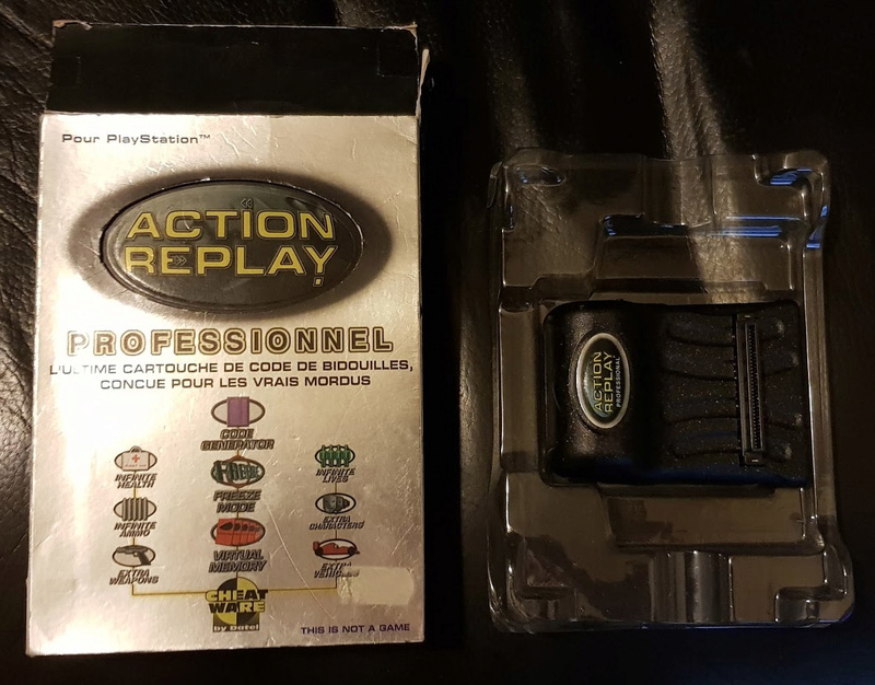 [DON] Action Replay PS1 Ps10