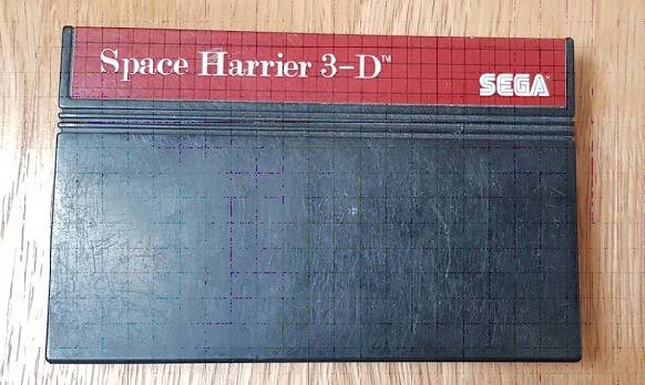 Space Harrier 3-D (Master System) - 10€ fdpin Space10