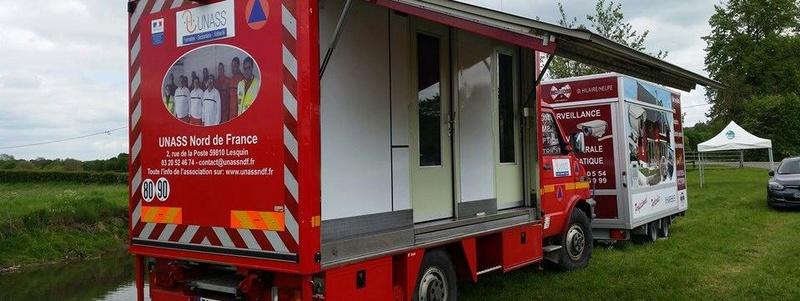 Vol d'un camion de la Croix Rouge 13794110
