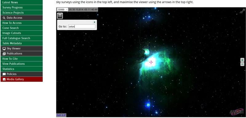 Carte du ciel austral la plus détaillée Ciel10