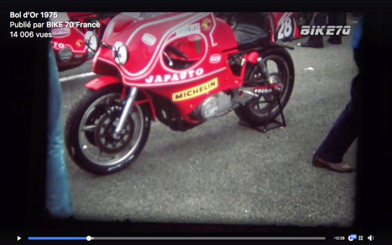 Bol d'Or 1975 VIDEO BIKE 70 28232910