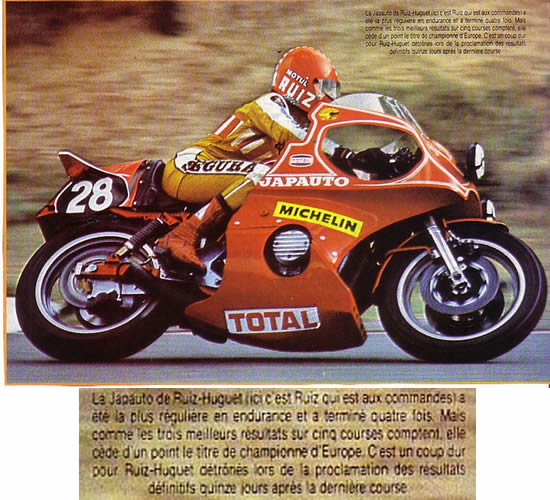 Bol d'Or 1975 VIDEO BIKE 70 Roger-10