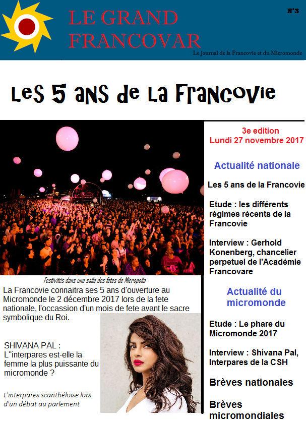 Le Grand Francovar Une10