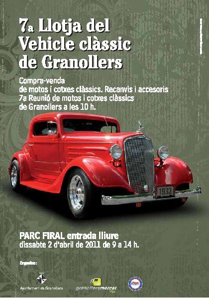 Llotja del vehicle calssic a Granollers 2 d'Abril (per qui no puji a Florejacs) 178110