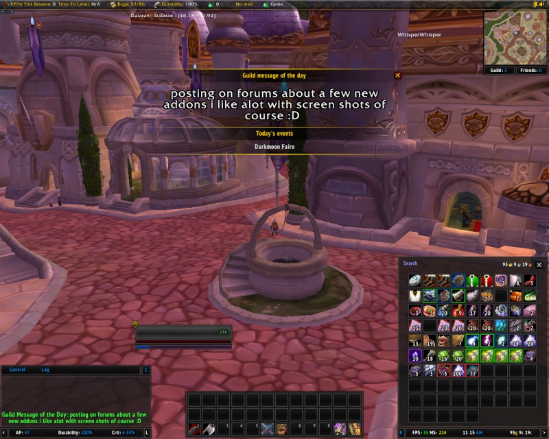 new addons Pawn, TheGuildTimes, and GuildDebt Guildt10