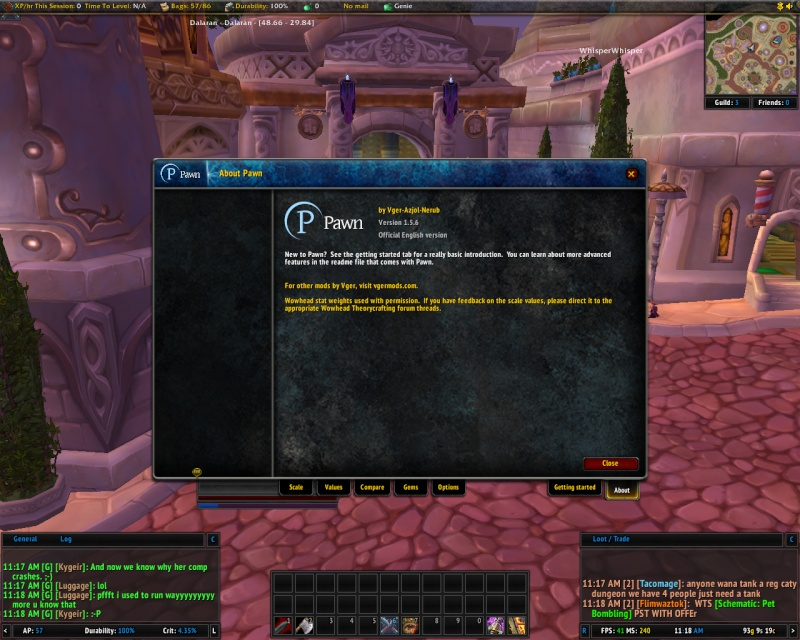 new addons Pawn, TheGuildTimes, and GuildDebt Pawn110