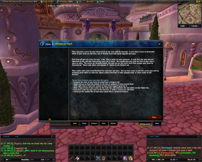 new addons Pawn, TheGuildTimes, and GuildDebt Pawn210
