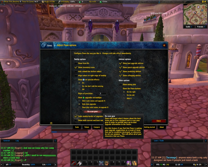 new addons Pawn, TheGuildTimes, and GuildDebt Pawn310