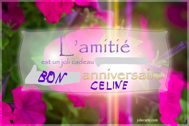 Anniversaire Céline Amitie11