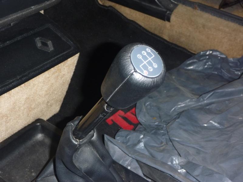 Pommeau levier de vitesse Turbo 2 P1030618