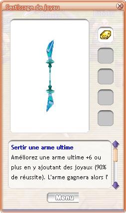 Armes Uniques, Armes Ultimes Sertir10
