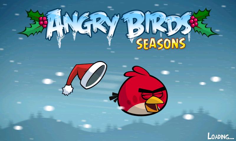 Angry Birds Seasons => Calendrier de l'Avent Screen15