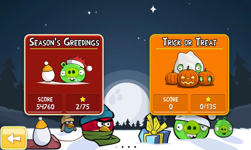 Angry Birds Seasons => Calendrier de l'Avent Screen16