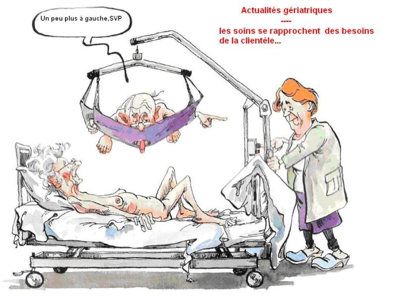 la geriatrie evolue , enfin du nouveau / Geriat10