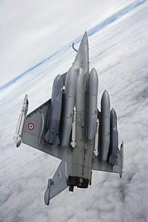 Des Rafale de la base de Saint-Dizier en mission au-dessus de la Libye Rafale10