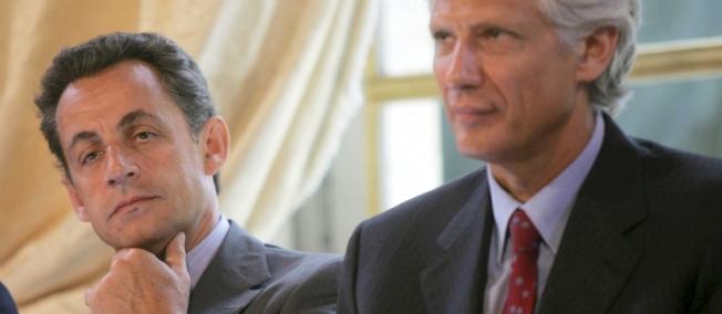 Nicolas Sarkozy et Dominique de Villepin ont partagé le petit-déjeuner Villep10