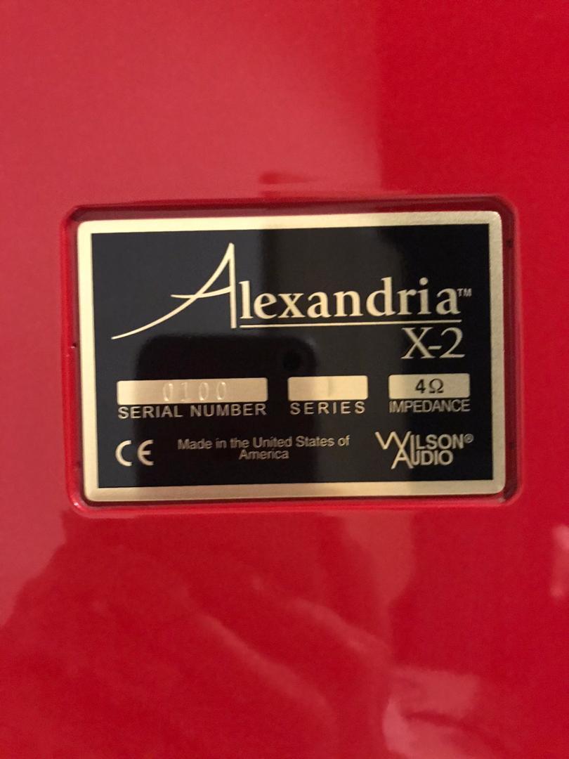 Wilson Alexandria X-2(used) 1b394710