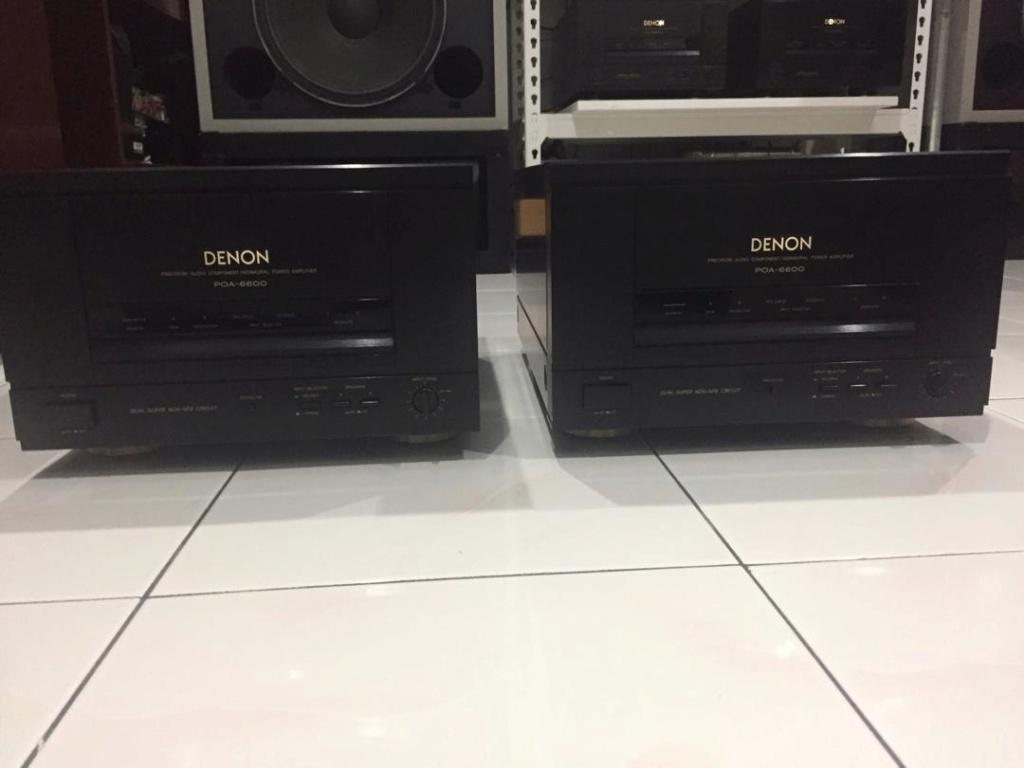Denon DAP5500 Pre amp & POA-6600 Monoblock (Used) 3b00d110