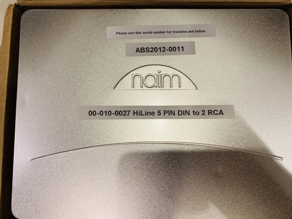 Naim Hiline 5 Pin Din to 2 RCA (sold) A6e43f10