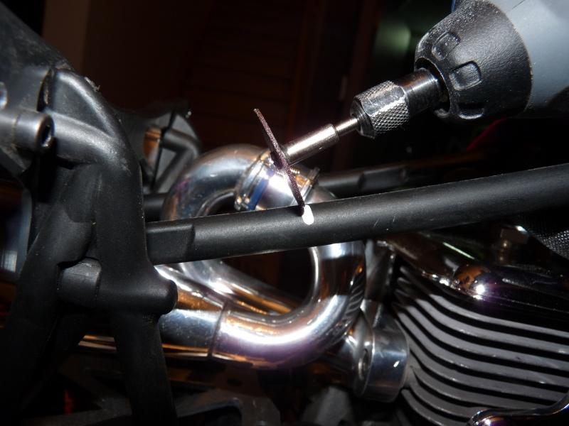 Installation Démonte Rapide Roll Cage P1010520