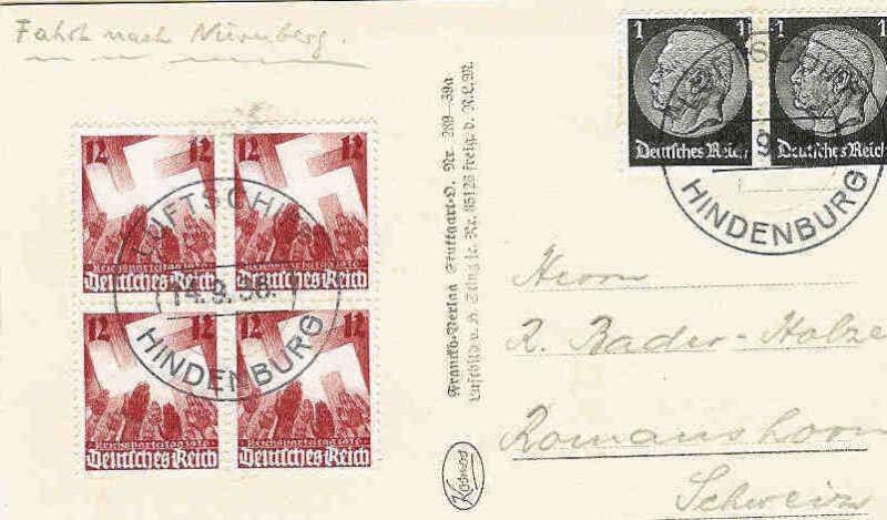 Reizvolle Briefe des Deutschen Reichs 43510