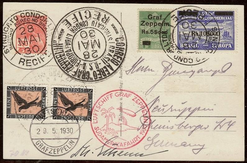 nach - Südamerikafahrt 1930, Post nach Lakehurst - Seite 4 57_e_b10