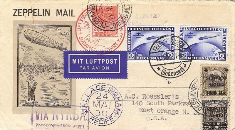 nach - Südamerikafahrt 1930, Post nach Pernambuco - Seite 3 57_k__10