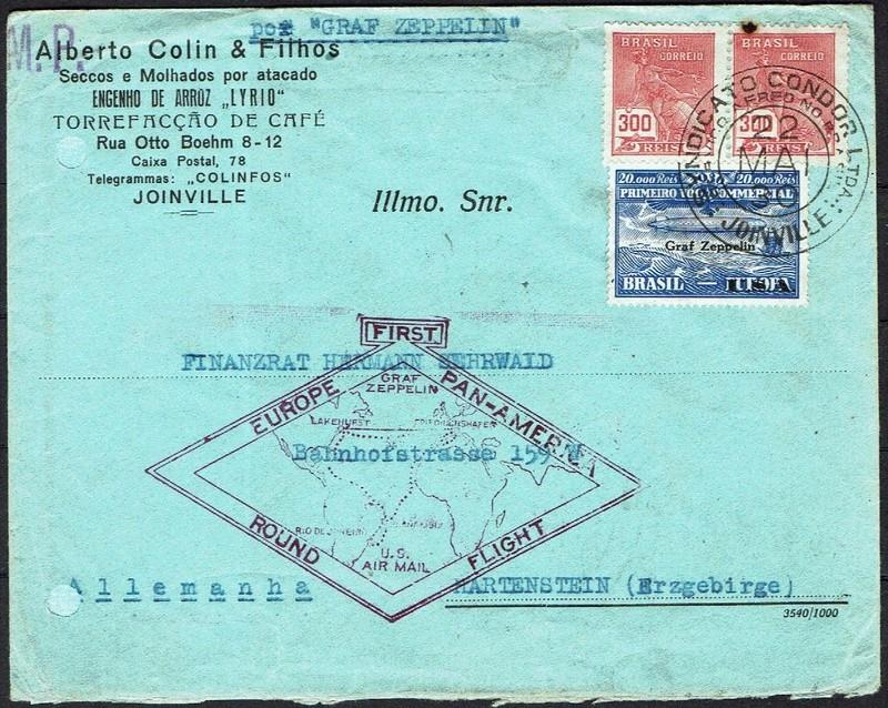 Zeppelinpost aus Brasilien 59_f_j10