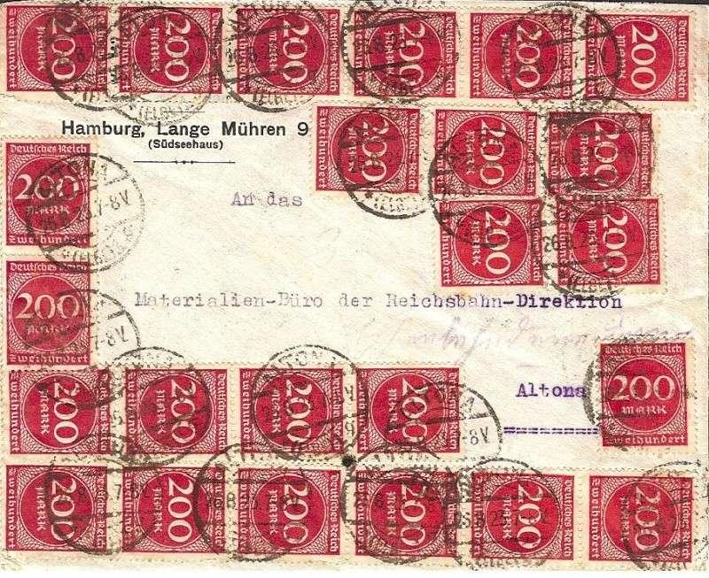 Reizvolle Briefe des Deutschen Reichs Inflab10