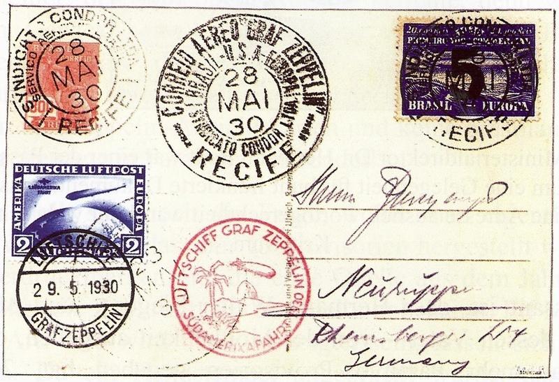 nach - Südamerikafahrt 1930, Post nach Lakehurst - Seite 4 Sieger10