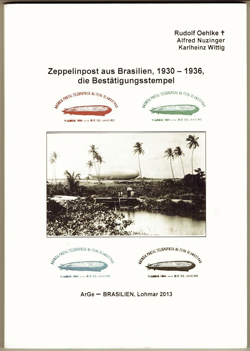 Zeppelinpost aus Brasilien Titelb10